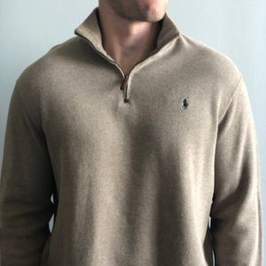 Men's Polo Ralph Lauren quarter Zip Up
